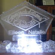 Graduation Ice Sculpture