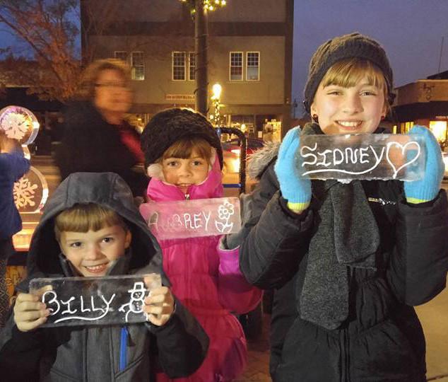 Kids Names in Ice