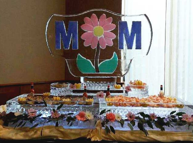 Mother's Day Food Ice Display