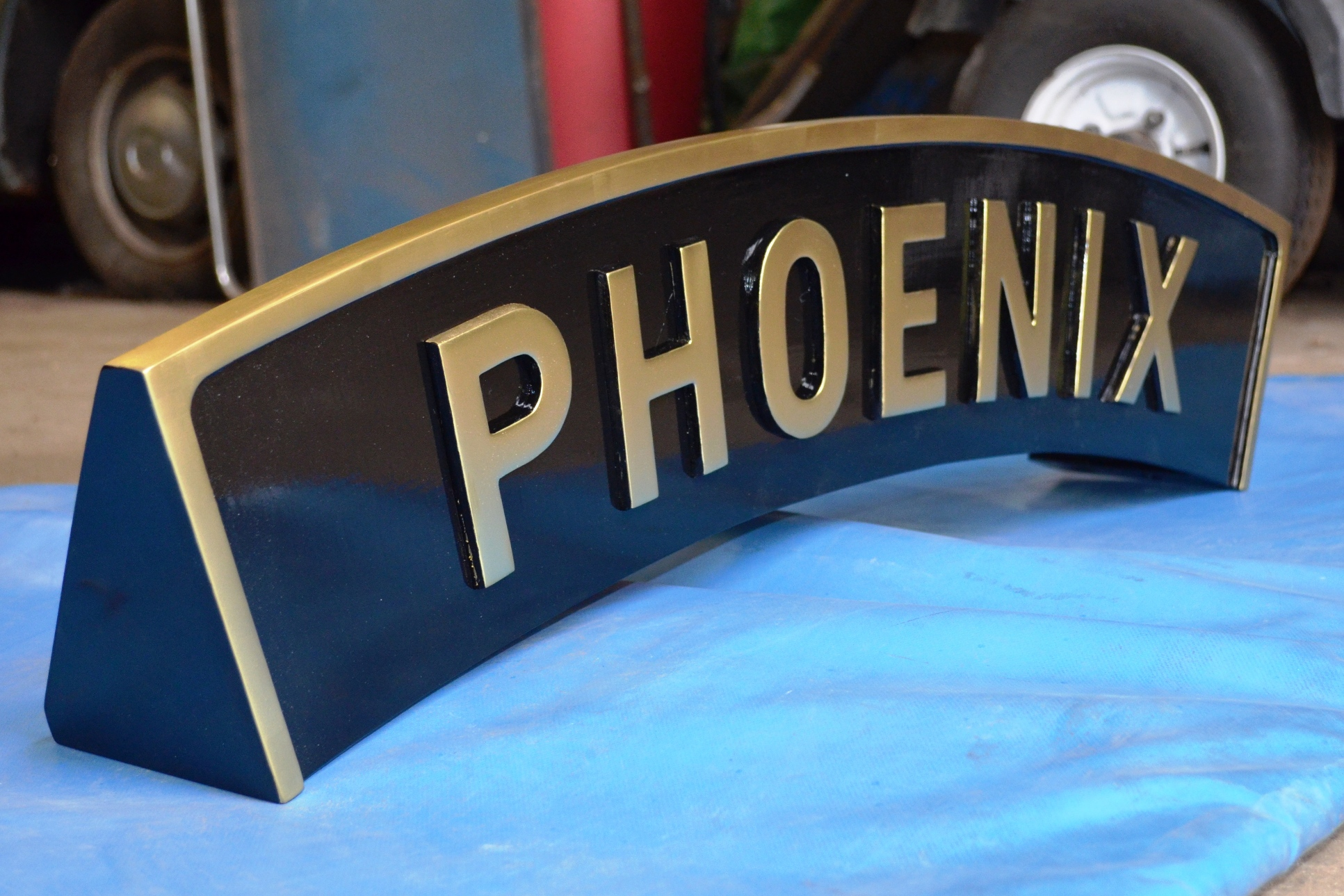 Phoenix Nameplate