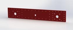 Buffer beam plate
