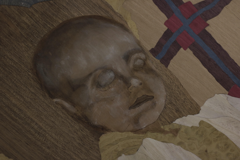 détail d'un visage