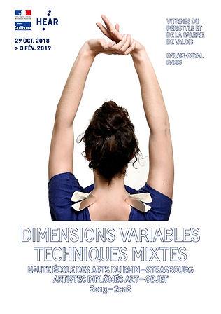 Expo art-objet — HEARministère — affiche