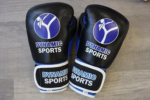 Dynamic Sports Boxhandschuhe Schwarz 8oz