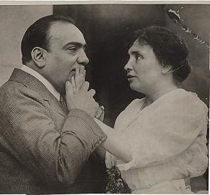 Helen Keller et Caruso