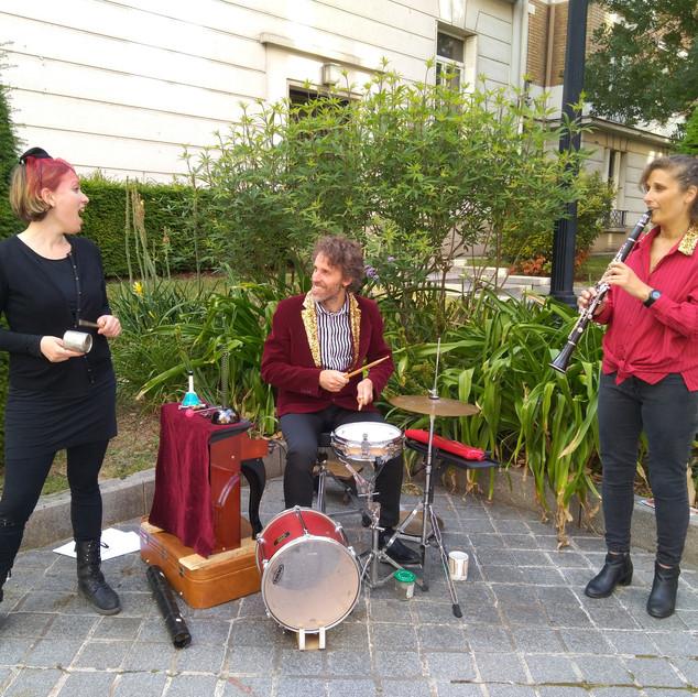 Trio Sélectif / Les Concerts portatifs