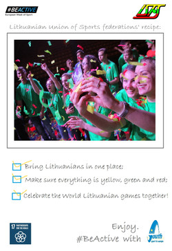 Lithuanian Union of Sports federations