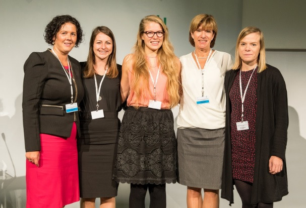 ENGSO #womenpower: Agne Vanagiene, Anett Fodor, Laura-Maria Tiidla, Kristina Thuree, Heidi Pekkola Photo: Lithuanian Olympic Committee