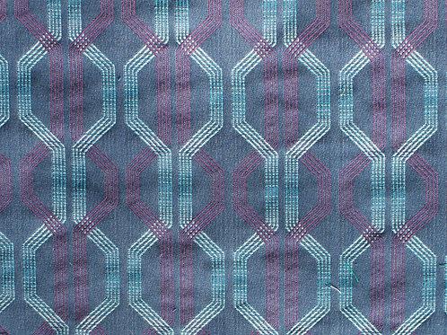 Cosmo Indigo Sunbrella Fabric