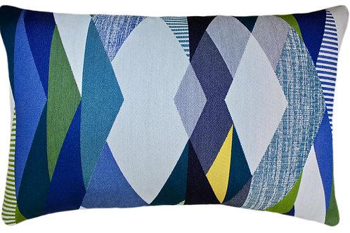 Viewpoint Blue Lumbar Pillow