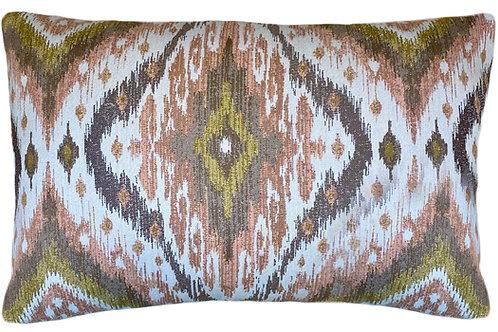 Ikat Multi Lumbar Pillow