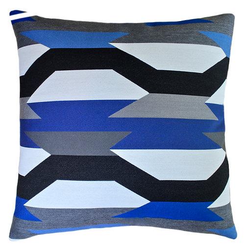 Crescendo Midnight Throw Pillow