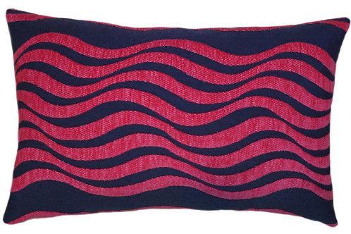 Catch a Wave Navy/Pink Lumbar