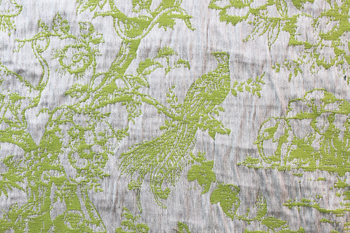 Tropical Toile Lime Grey