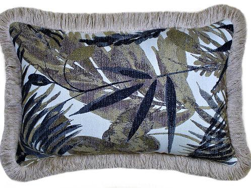 Palm Island Lumbar with Fringe