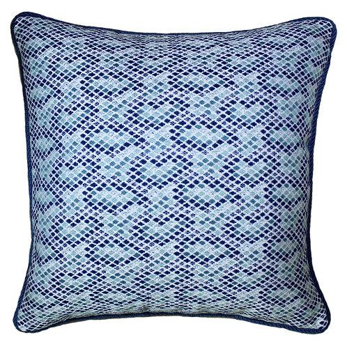 Mosaic Tile 20x20Corded Throw Pillow