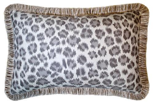 Cheetah Fringed Lumbar