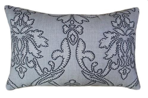 Applique Stone 13x20 Lumbar Pillow
