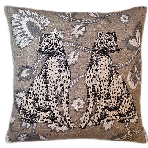 Regal Cats Throw Pillow