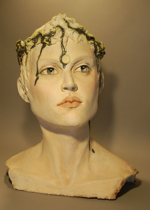 Katie Bensky Portriat Sculpture