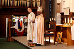Bishop Willie with Fr Julian