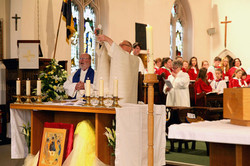 Eucharist at Easter