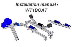 WT1BOAT -Manual_walltrailer + boat rack.