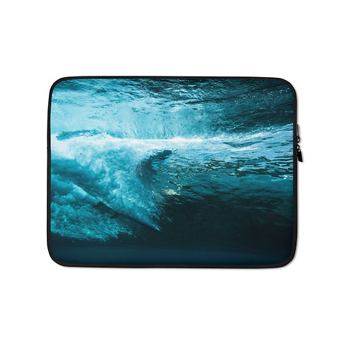 Crystal Cave Laptop Sleeve