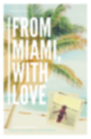 From Miami with Love by Christina Reddick_Book Cover