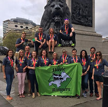 Hayle Runners represented at the London Marathon