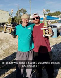 Chili & Wing Cook Off Dauphin Island Gumbo Cook off