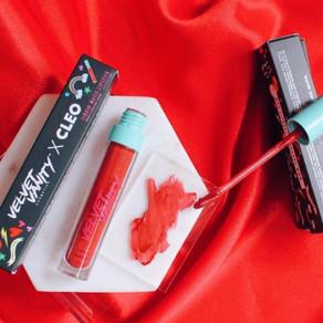 CLEO x Velvet Vanity Take Me Out Lipstick Shade