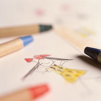 crayon couleur Bilan psychométrique WISC 5 enfants adolescents Ecully