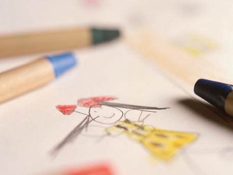 Crtanje na leđima, igra opuštanja i strpljenja