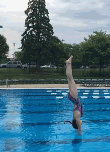 Evelyn dives with American Flyers Diving.