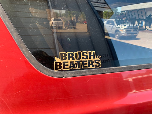 "7.5"" Brush Beaters Decal"