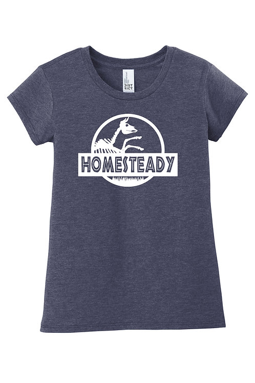 HOMESTEADY JURASSIC KIDS - DT6001YG District ® Girls Very Important Tee ®