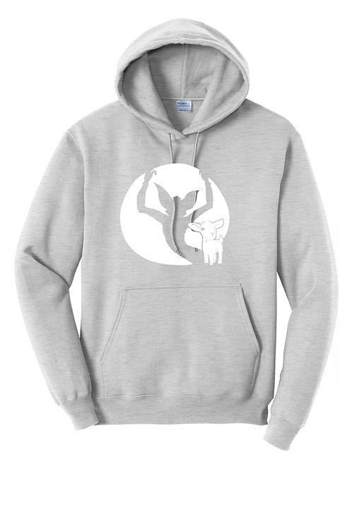 Goat Gremlin  -  PC78H Port & Company® - Core Fleece Pullover Hooded Sweatshirt