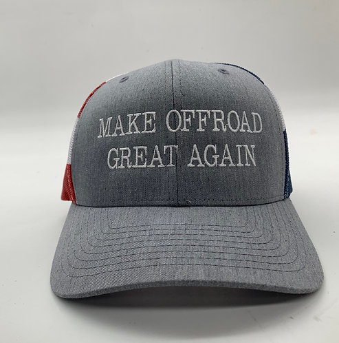 Make Off-road Great again Flag hat