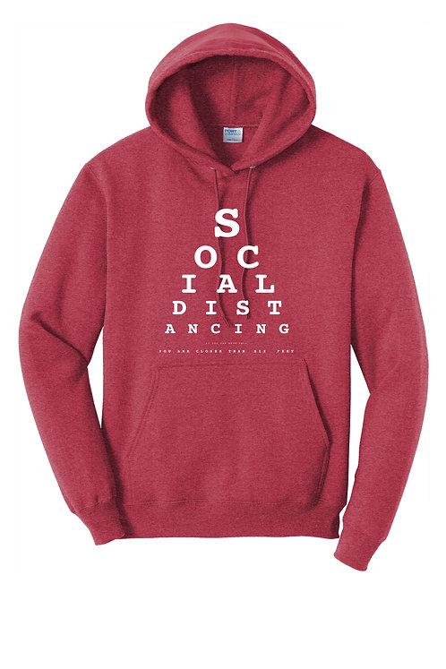 Social Distancing -  PC78H Port & Company® - Core Fleece Pullover