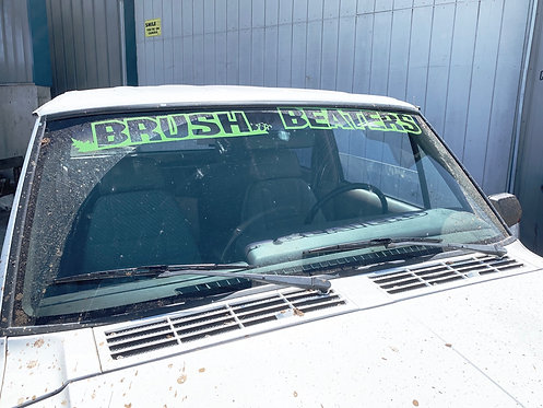 Brush Beaters Window Banner