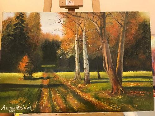 Art panel 50cm X 76cm