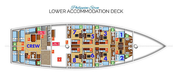 Lower Deck Plan