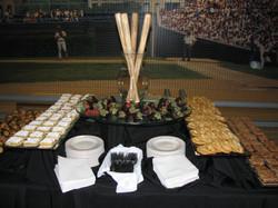 Baseball Theme dessert table