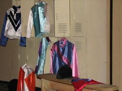 Race Theme jockey locker room
