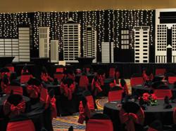 Cityscape backdrop