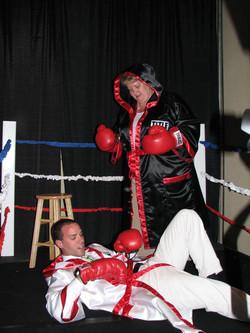 Boxing Photo Op