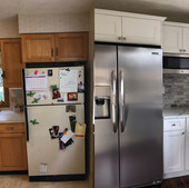 BG Fridge before and after combo
