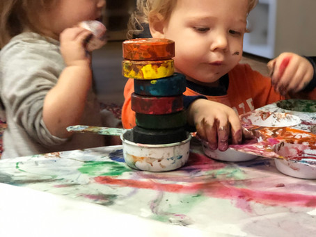Tiny Humans: Babies are artists too