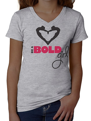 Be A BOLD Girl! T-shirt (Youth)